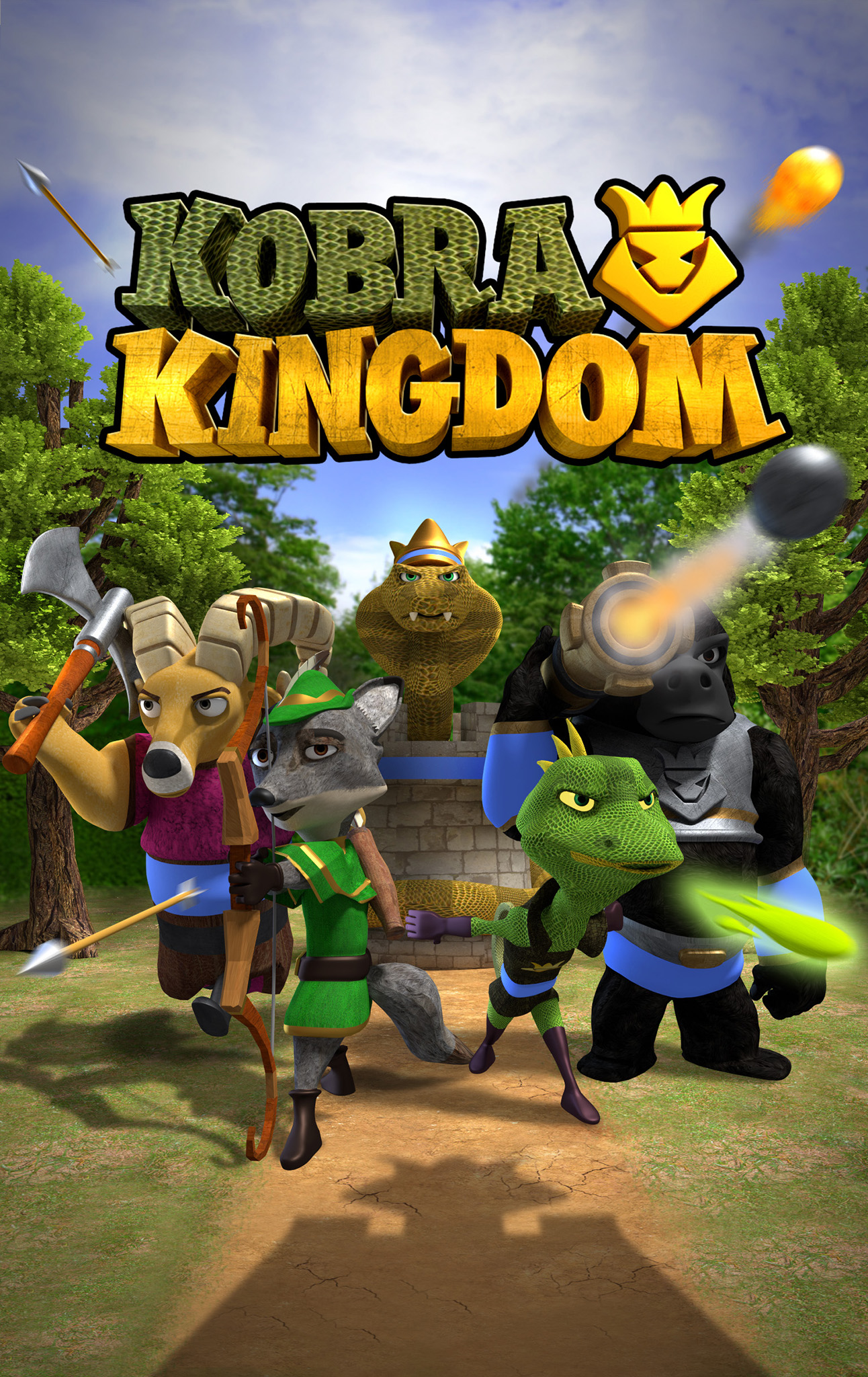 Kobra Kingdom: Arena Clash of Epic Heroes & Lords
