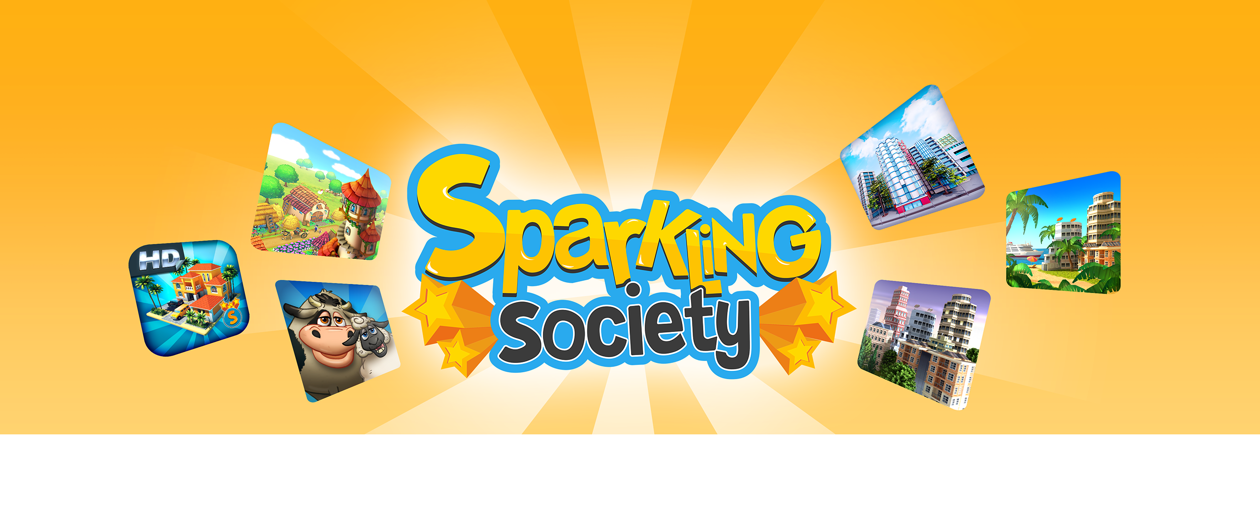 Welcome To The Sparkling Society - Various Village Town Sim City Building Games