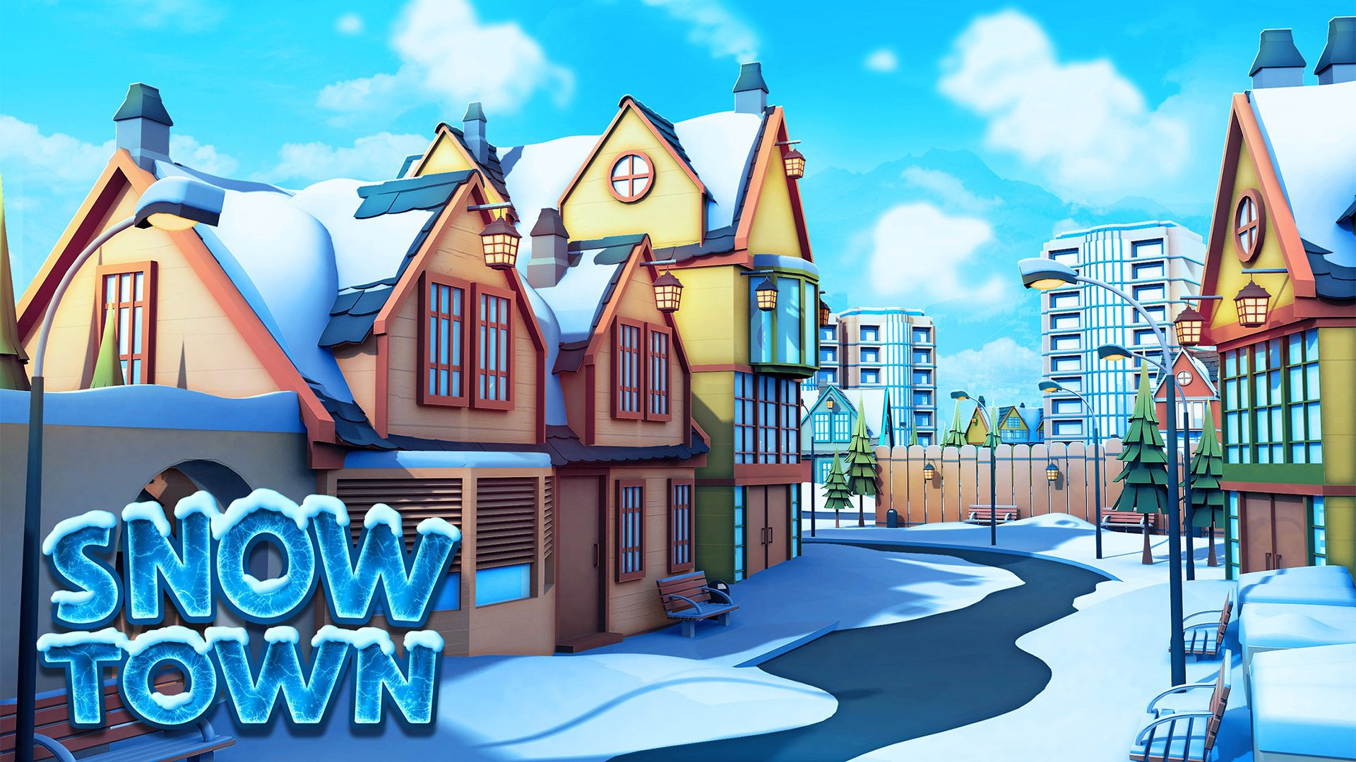 Snow Town – Ice Village World