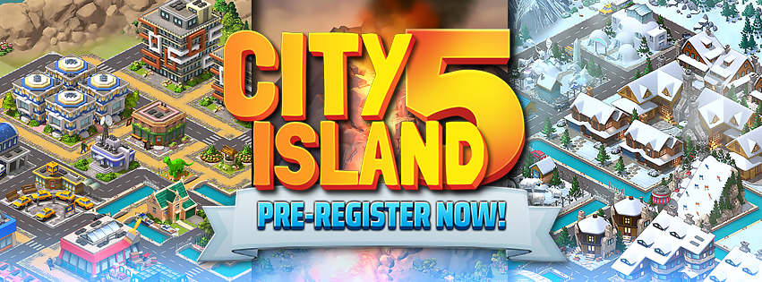City Island 5: Pre-register NOW